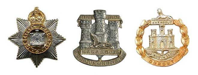 The Regimental Badges
